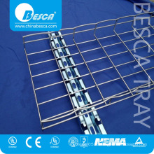 Stainless Steel SS316 SS304 Electric Perforated Wire Mesh Cable Tray