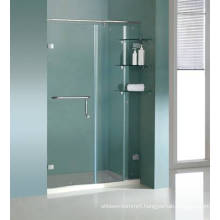 Hinged Tempered Safety Glass Shower Screen Hg-462
