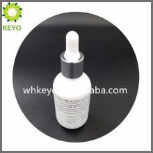 30 ml luxus weiß farbige leere parfüm kosmetik verpackung dicke boden glas tropfflasche