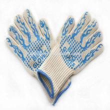 TE01BK Bestseller 14-Zoll-lange Ofen-Handschuhe, 932f extrem hitzebeständige BBQ-Grill-Handschuhe zum Backen Kochen