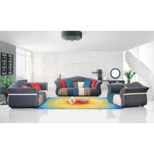 Sofá moderno de la sala de estar de los muebles de la sala Sofá de la esquina de la tela