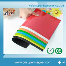 Flexible Flat Glossy Isotropic Sheet Rubber Magnet Sheet Rolls