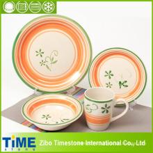 Ensemble de vaisselle en céramique 20PC peint à la main (15032102)