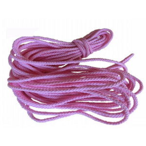 1.5mm Pink Twisted Cord for shoelack