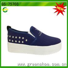 Neue Ankunfts-kundengebundene preiswerte nette Massen-Segeltuch-Schuhe