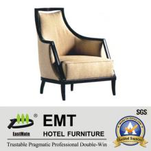 Nice Design Hotel Sofá cadeira com apoio de braços (EMT-SC01)