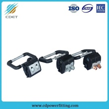 Insulation piercing ground clip clamp