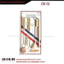 Kit de Escova de Limpeza de Pistola de pulverização Pistola de reparo