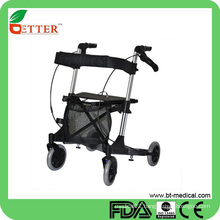 "Durable 4 Wheel rollator nexus with 6"" Casters"