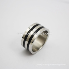 Wholesale Stainless Steel Wedding Engagement Band Ring