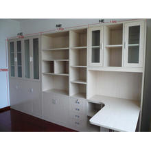 Cheap Study Room Wooden Ikea Bookcase