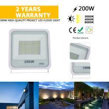 Luz de inundación solar 200w para exteriores