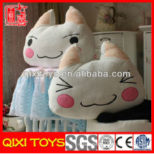 Latest design high quality plush cat pillow