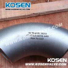 Encaixes de tubulação de aço inoxidável (cotovelo)