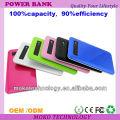 портативный передвижной банк силы для iphone5, 5С, 5С, Samsung