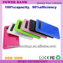 capacidade grande móvel do banco do poder do ipad 2 do ar do ipad 5S do iphone 5S 5C