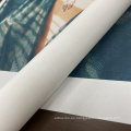 materiales de impresión rollo de lona 100% algodón