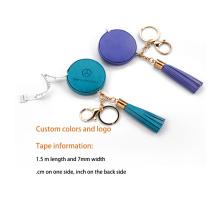 Schlüsselanhänger PU-Leder-Maßband