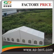 Tente de fête de mariage à bas prix avec porte en verre en aluminium 25x50m pour fête et banquet