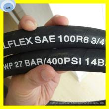 SAE 100r6 Fabric Reinforced Hydraulic Hose