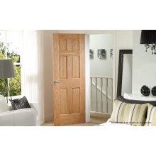 Entrada de grãos naturais Interior Preços de porta de madeira