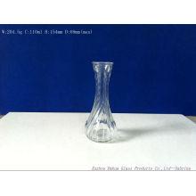 110ml Fancy Shape Clear Glass Vase Small Flower Vases