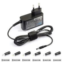 12V2a Adaptador de conmutación universal 24W Cargador de potencia