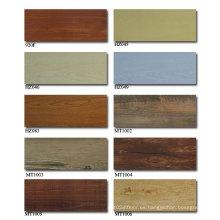 Azulejo de madera del piso del vinilo de China