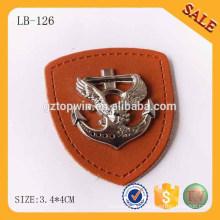LB126 Mode élastique étiquette étiquette étiquette en cuir pour vêtement