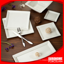 factory direct sales made in china super white porcelain dinner sets