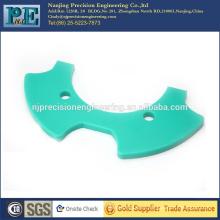 Placa abs colorida personalizada de la alta precisión