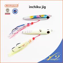 IJL001 alta qualidade equipamento de pesca artificial isca de pesca isca inchiku gabarito