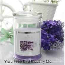 Bougies parfumées romantiques de cadeau de mariage avec le ruban