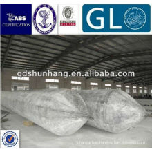 china supplier floating dock ship landing boat rubber airbag
