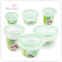 Boîte à lunch, récipient de nourriture en plastique de Fresh-Keeping