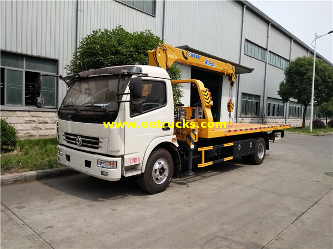 4T Wrecker Recovery Trucks with Crane