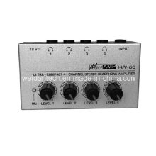 Ultra-Compact 4 Channel Stereo Headphone Amplifier