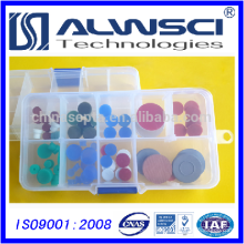 azul 11mm Silicone de alta temperatura / 0-300 GC Septa