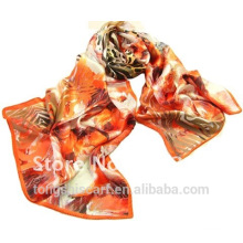 SD348-085 impressão digital de tecido lenço de seda digital impressão Tongshi fornecedor alibaba china cachecol jovem tubo menina