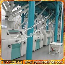 Le maïs chaud de vente d'Alibaba grille la machine / machine de traitement de maïs / usine de traitement de maïs