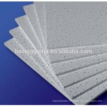 Panneau de fibre minérale, faux plafond de fibre minérale