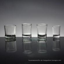 Großhandelskundengebundenes Größen-freies Schnapsglas