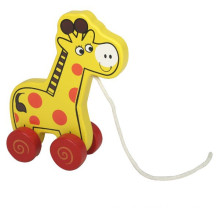 Animals Toy Wooden Pull-along Giraffe Toy