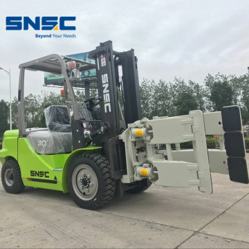 Paper Roll Clamp Attachment Forklift 3 Ton