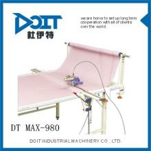 DT MAX-980 con puntada perfecta DOIT Neotype Electronic contando máquina de corte de tela