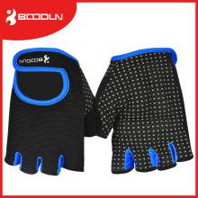 Espuma de silicona acolchada antideslizante Gimnasio culturismo Fitness guante con alta calidad