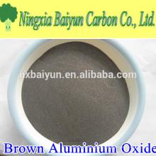 Material de óxido de alúmina 150mesh óxido de aluminio marrón para abrasivo revestido