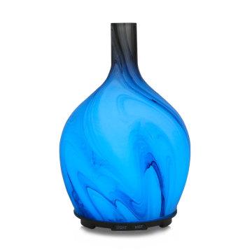 Diffuseur d'arôme d'huile essentielle en verre coloré de haute qualité