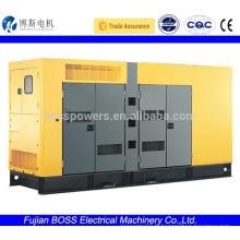 Générateur diesel 600KW à faible bruit avec moteur Cummins CE ISO9001