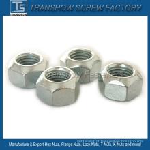 DIN980V Aço Carbono All Metal Lock Hex Nut